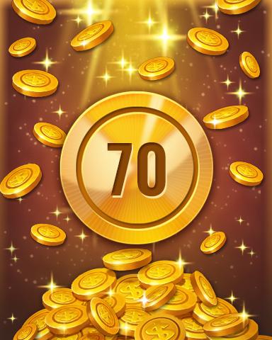 Rank 70 Badge - Pogo™ Slots