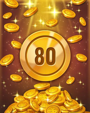 Rank 80 Badge - Pogo™ Slots
