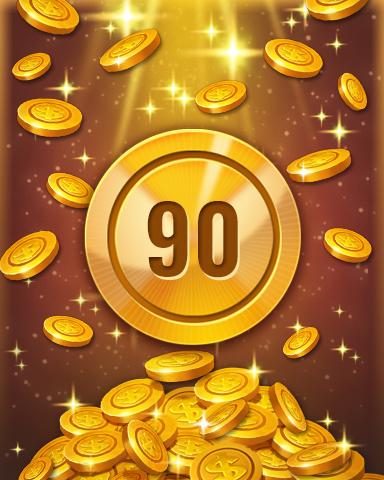 Rank 90 Badge - Pogo™ Slots