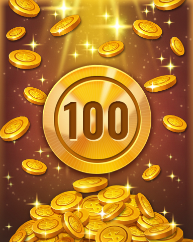 Rank 100 Badge - Pogo™ Slots