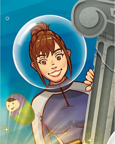 Sunken Secrets 3 Badge - Quinn's Aquarium