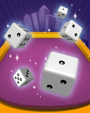 On A Roll Badge - Dice City Roller HD