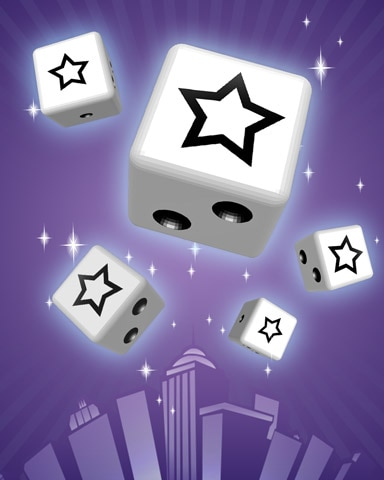 Super Star Badge - Dice City Roller HD