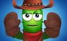 Cowboy Level 1 Badge - Poppit! Party