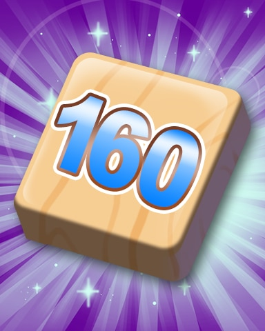 Rank 160 Badge - SCRABBLE