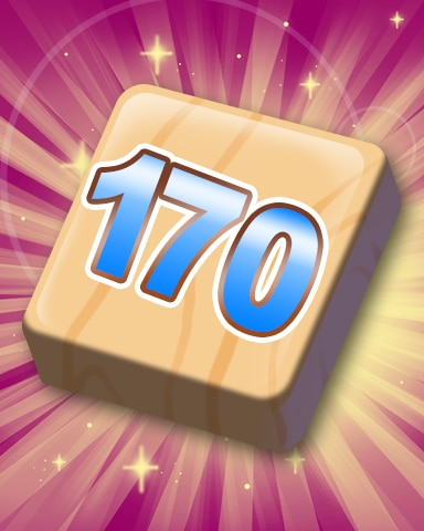 Rank 170 Badge - SCRABBLE