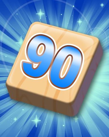 Rank 90 Badge - SCRABBLE