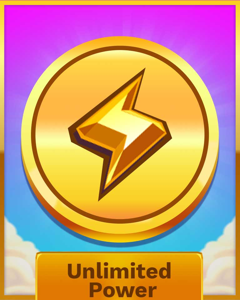 Unlimited Power Badge - Bejeweled Stars