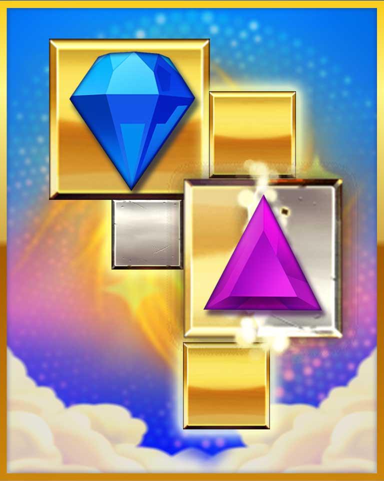 Transmutation! Badge - Bejeweled Stars