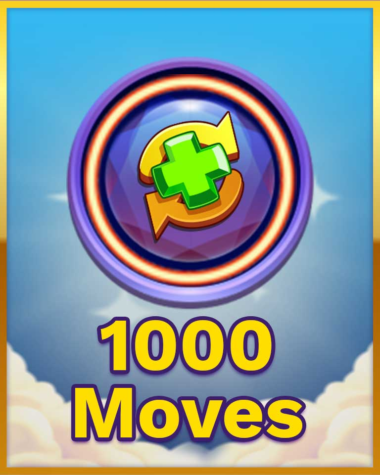 Too Many Moves Badge - Bejeweled Stars