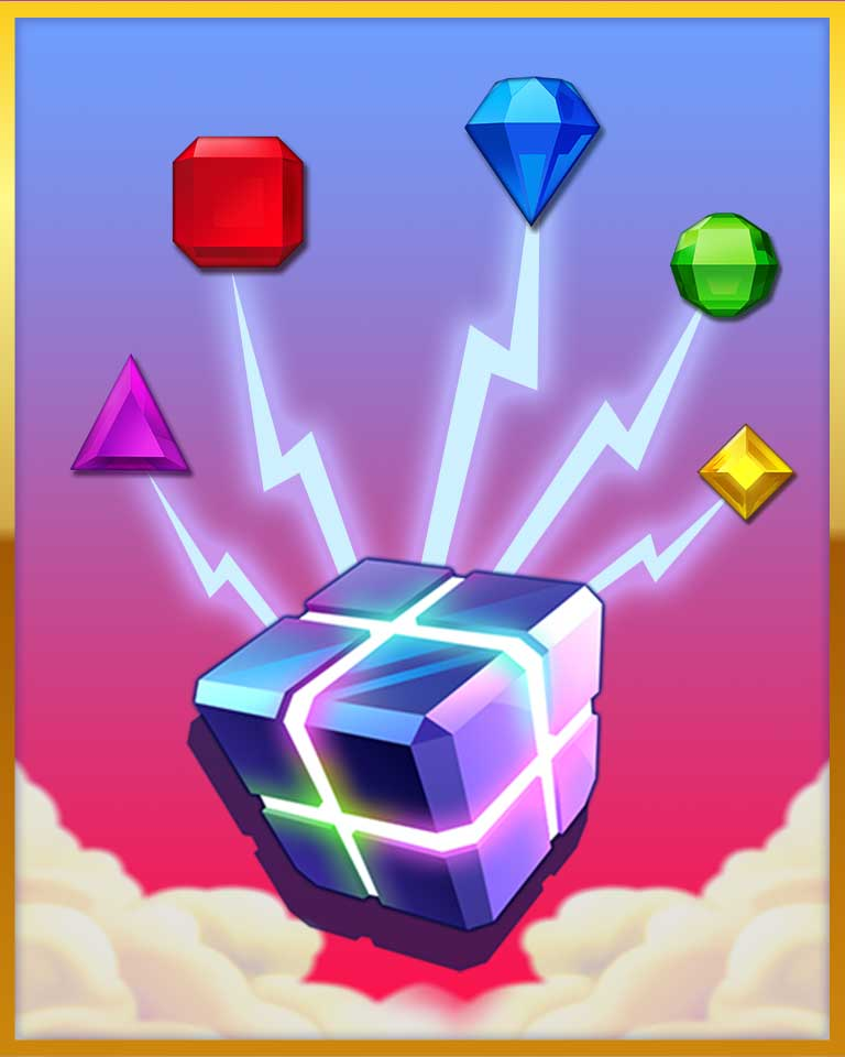 Hyper ConverterBadge - Bejeweled Stars