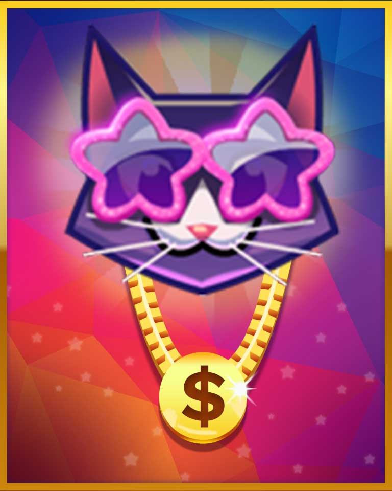 Worthy Investment Badge - Bejeweled Stars
