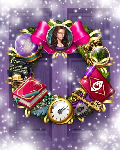 Claire's Charm Wreath Badge - Claire Hart: Secret In The Shadows