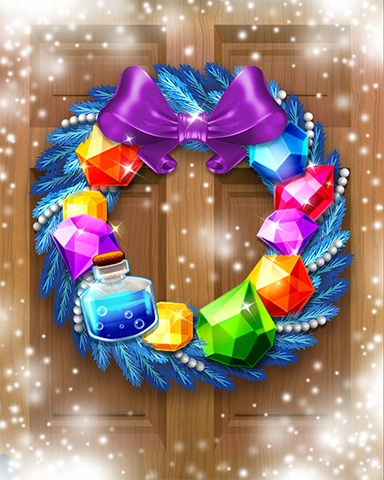 Enchanting Jewels Wreath Badge - Jewel Academy