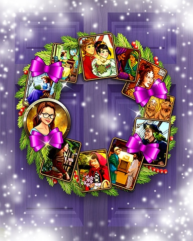 Rose's Storybook Wreath Badge - StoryQuest