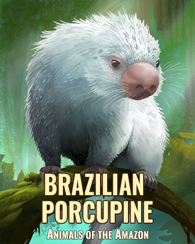 Brazilian Porcupine Badge - StoryQuest