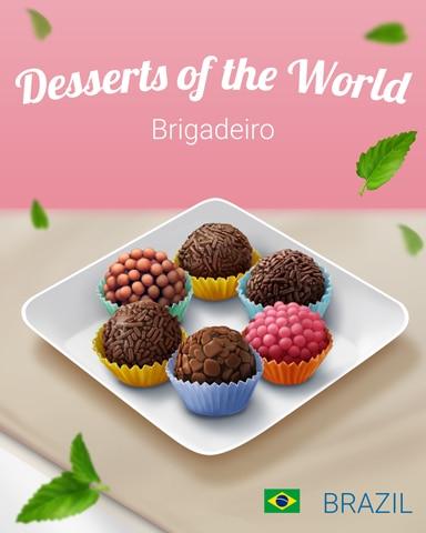 Brigadeiro World Dessert Badge - Phlinx II
