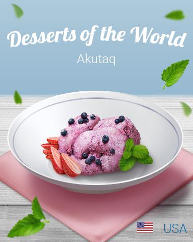 Akutaq World Dessert Badge - Cookie Connect