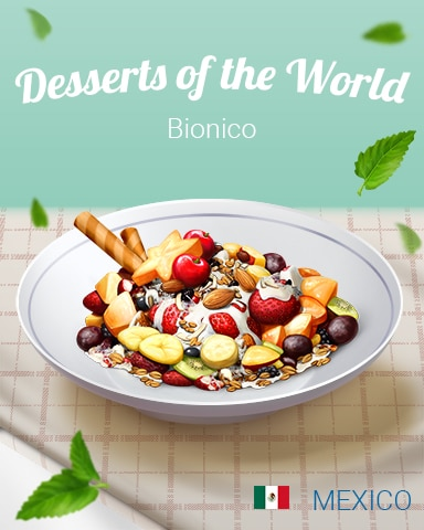 Bionico World Dessert Badge - Quinn's Aquarium