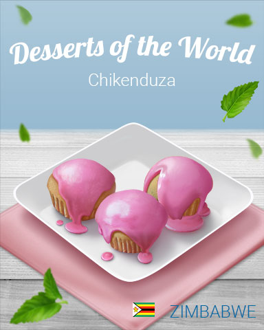 Chikenduza World Dessert Badge - World Class Solitaire HD