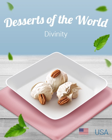 Divinity World Dessert Badge - Sweet Tooth Town
