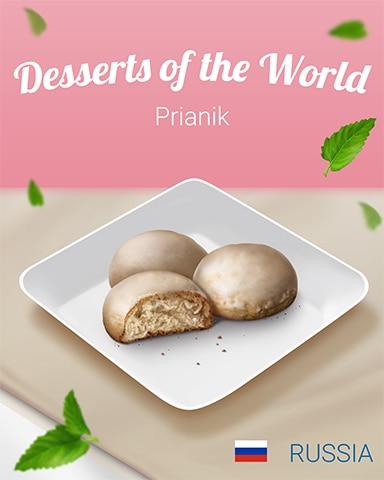 Prianik World Dessert Badge - Payday Freecell HD