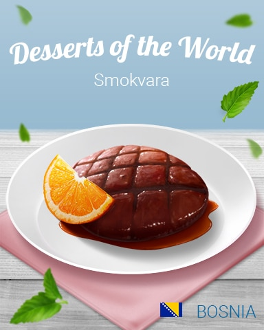 Smokvara World Dessert Badge - World Class Solitaire HD
