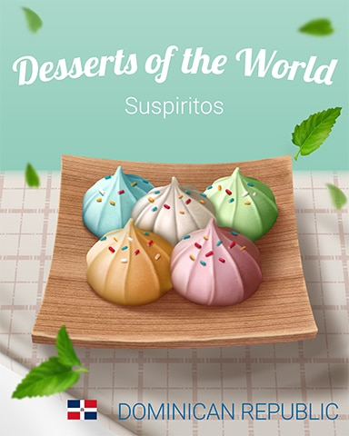 Suspiritos World Dessert Badge - Bejeweled Stars