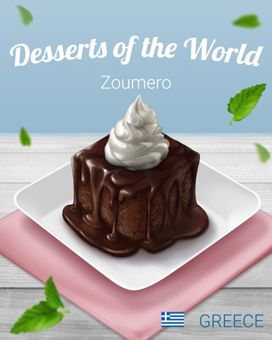 Zoumero World Dessert Badge - Canasta HD