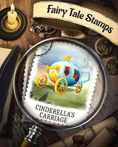 Cinderella's Carriage Fairy Tale Badge - Canasta HD