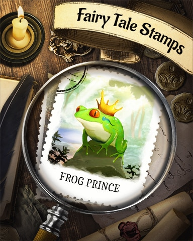 Frog Prince Fairy Tale Badge - Claire Hart: Secret In The Shadows