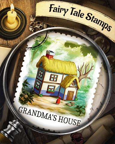 Grandma's House Fairy Tale Badge - Word Search Daily HD