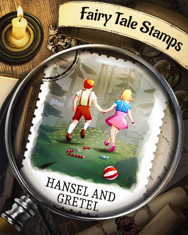 Hansel And Gretel Fairy Tale Badge - Anagrams