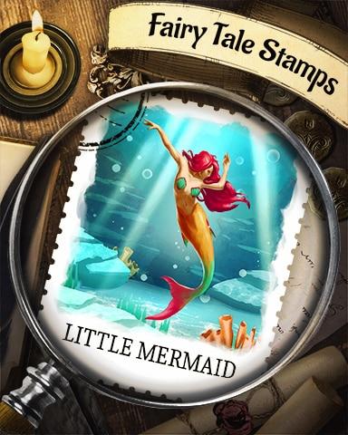 Little Mermaid Fairy Tale Badge - Pogo Daily Sudoku