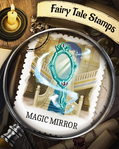 Magic Mirror Fairy Tale Badge - Mahjong Sanctuary