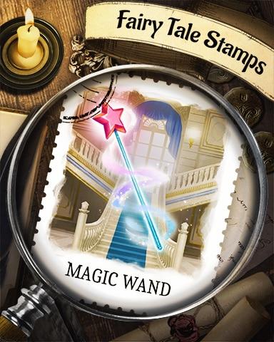 Magic Wand Fairy Tale Badge - Canasta HD
