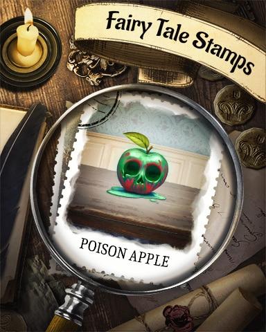 Poison Apple Fairy Tale Badge - Jigsaw Treasure Hunter HD