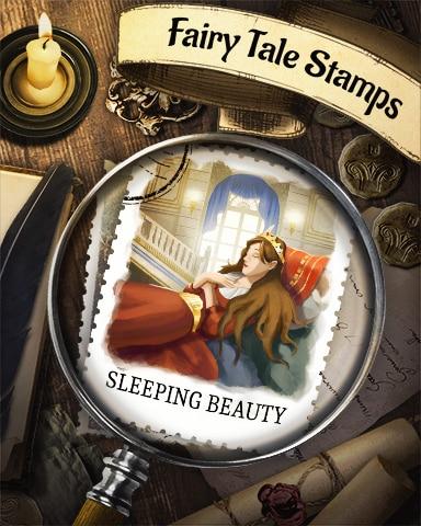 Sleeping Beauty Fairy Tale Badge - Lottso! Express HD