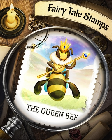 The Queen Bee Fairy Tale Badge - Pogo Daily Sudoku