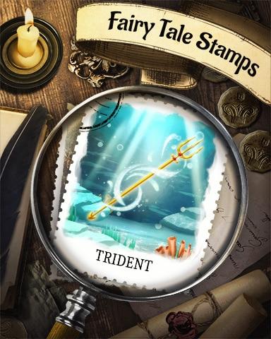 Trident Fairy Tale Badge - Solitaire Blitz