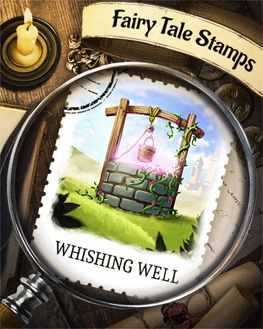 Wishing Well Fairy Tale Badge - Pogo™ Slots