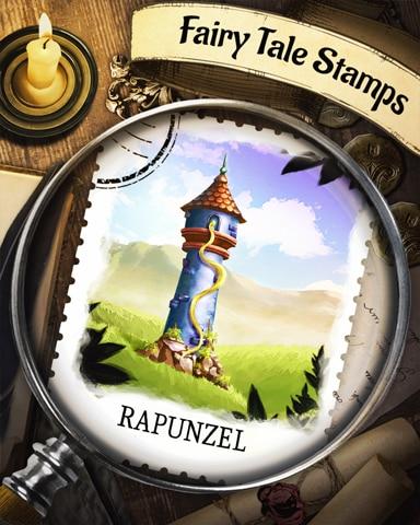 Rapunzel Fairy Tale Badge - Peggle Blast HD
