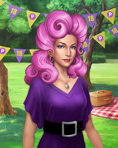 Claire Hart Costume Cookout Badge - Claire Hart: Secret In The Shadows