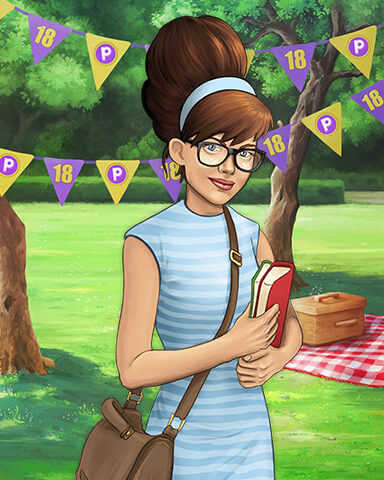 Rose Watson Costume Cookout Badge - StoryQuest