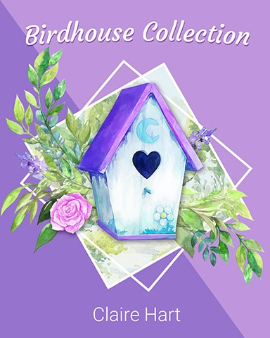 Classic Heart Birdhouse Badge - Claire Hart: Secret In The Shadows