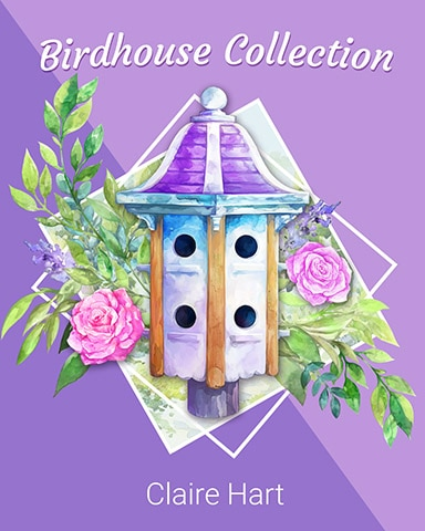 Two-Tiered Tower Birdhouse Badge - Claire Hart: Secret In The Shadows