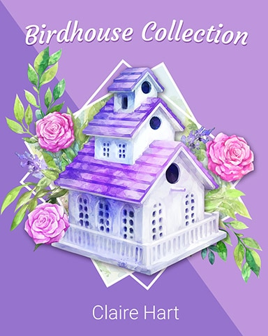Lavender Lane Birdhouse Badge - Claire Hart: Secret In The Shadows