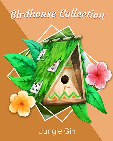 Jungle A-frame Birdhouse Badge - Jungle Gin HD