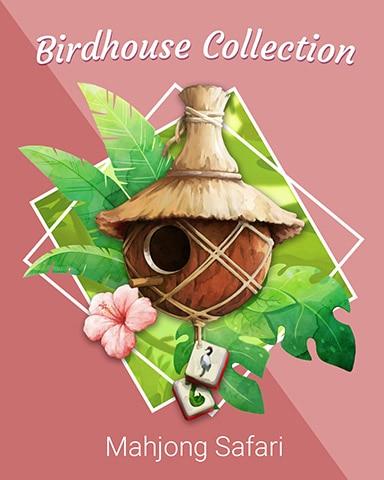 Comfy Coconut Birdhouse Badge - Mahjong Safari HD