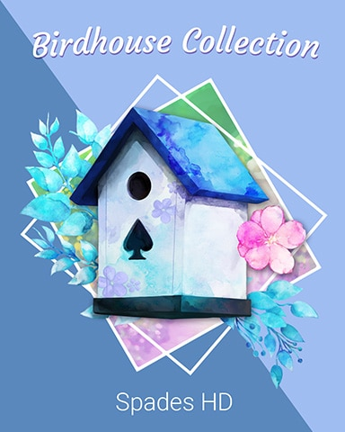 Classic Spades Birdhouse Badge - Spades HD